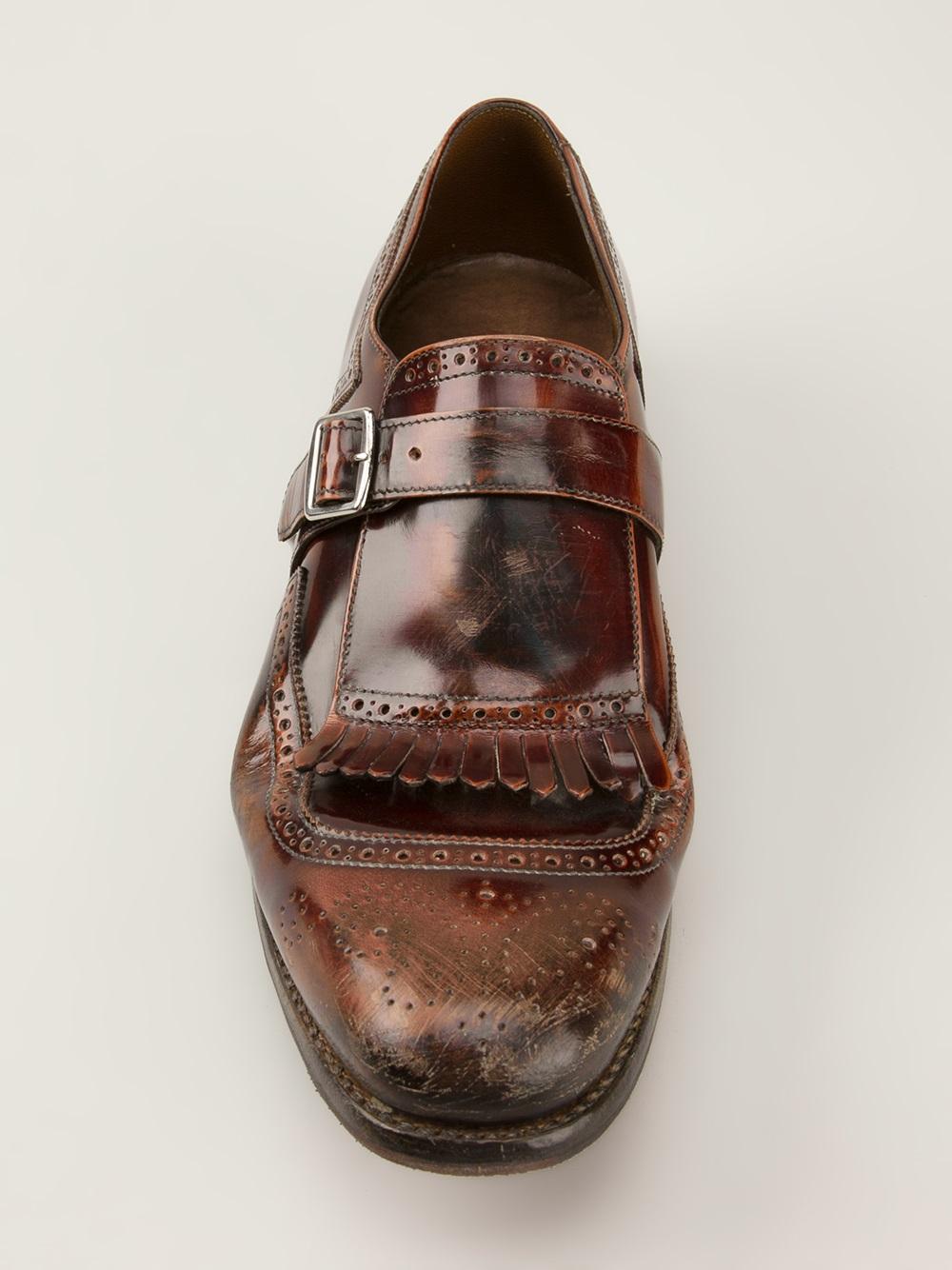 Church's Shanghai Monk Shoes in Brown