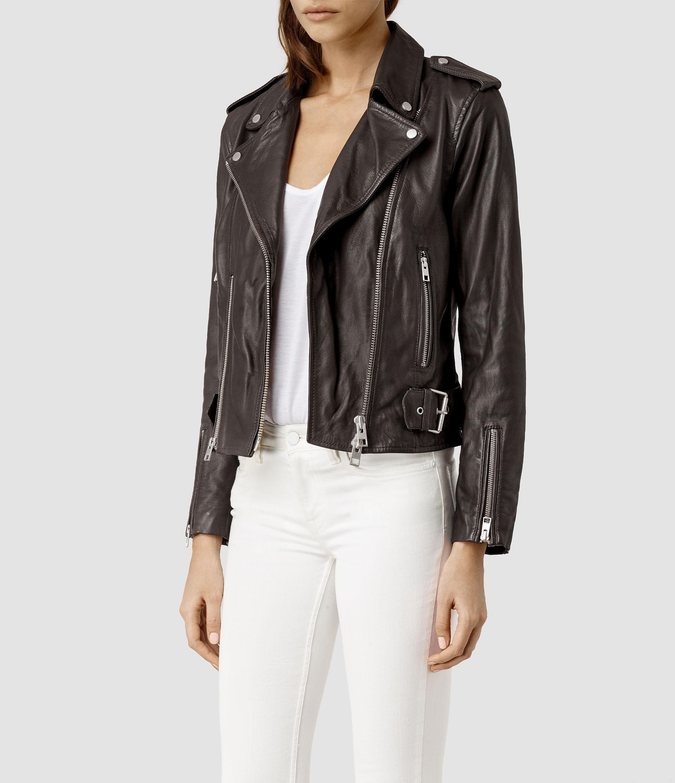 Womens gray cargo jacket