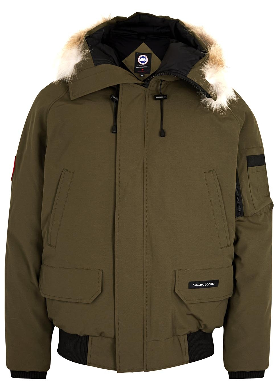 goose jacket twill