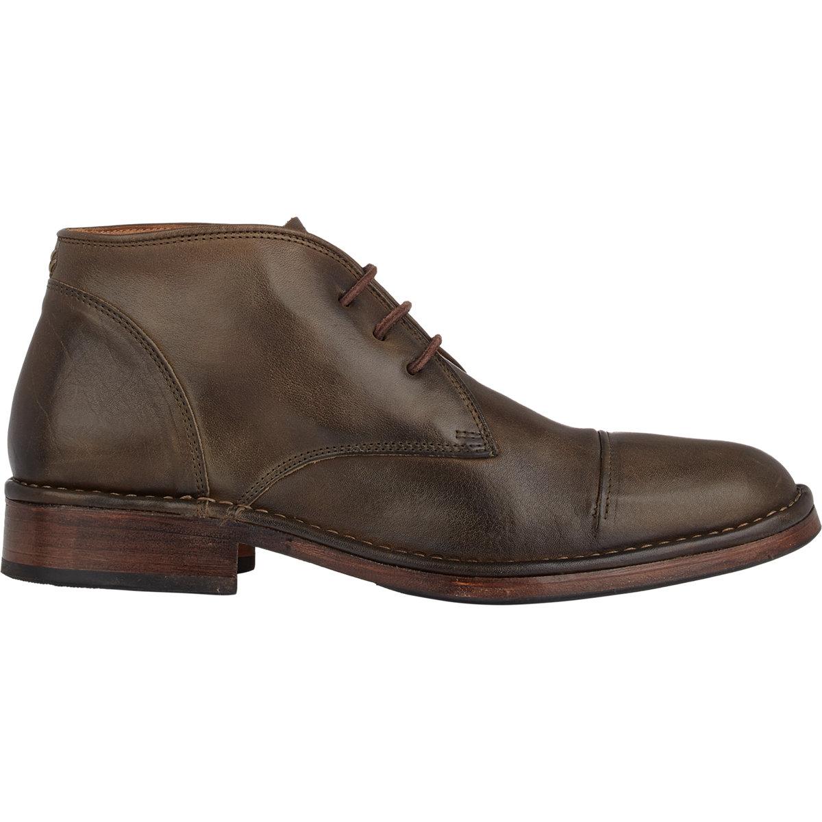 varvatos allen chukka boots brown size 9 5 in brown
