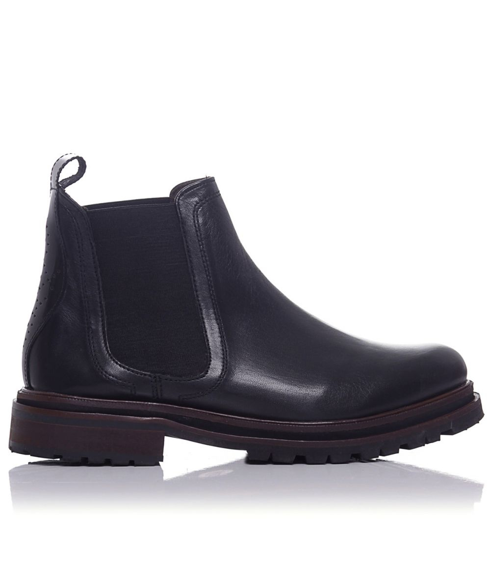 h by hudson wistow chelsea boots in black lyst. Black Bedroom Furniture Sets. Home Design Ideas