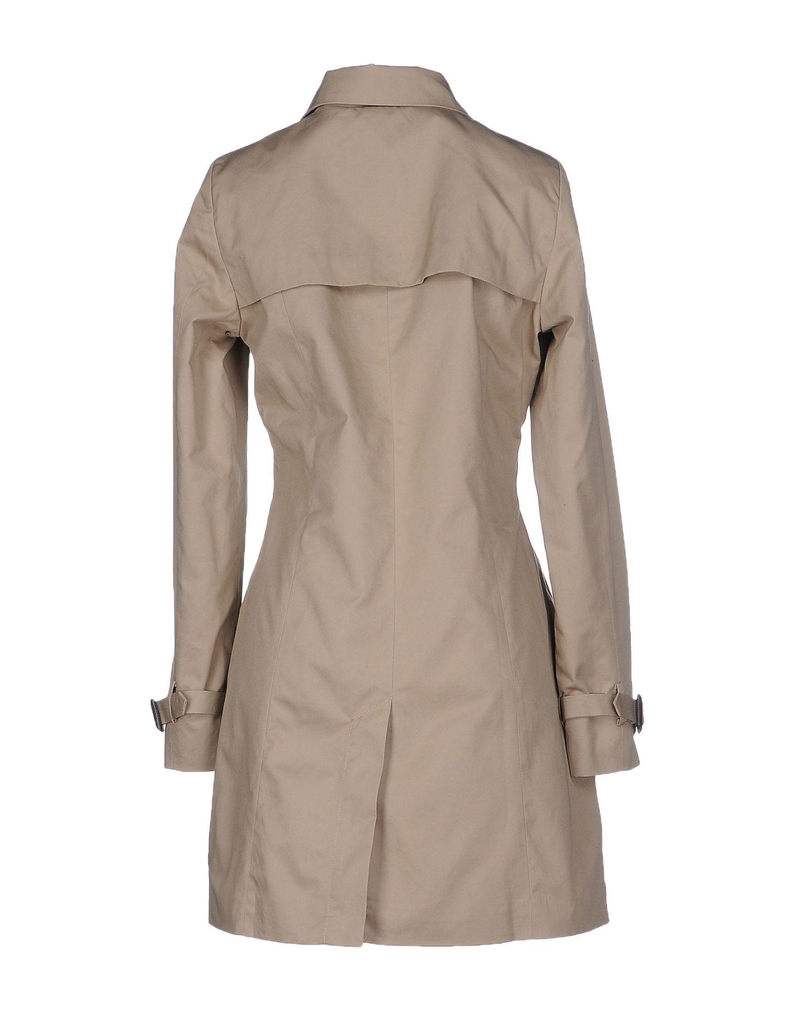 vero moda full length jacket in natural lyst. Black Bedroom Furniture Sets. Home Design Ideas