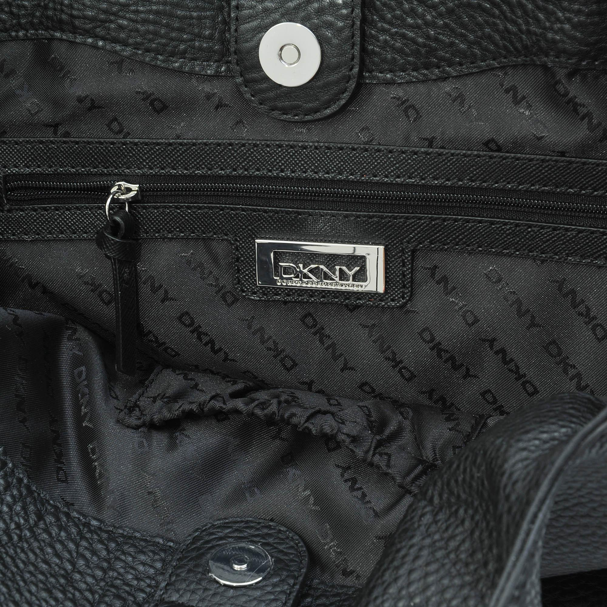 DKNY Ew Zip Tribeca Tote in Black