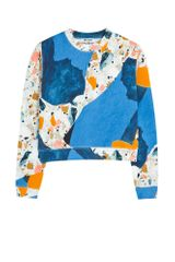 Acne Studios Bird Terazzo Print Sweat