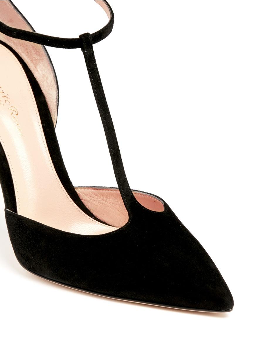 Black T Bar Shoes Size