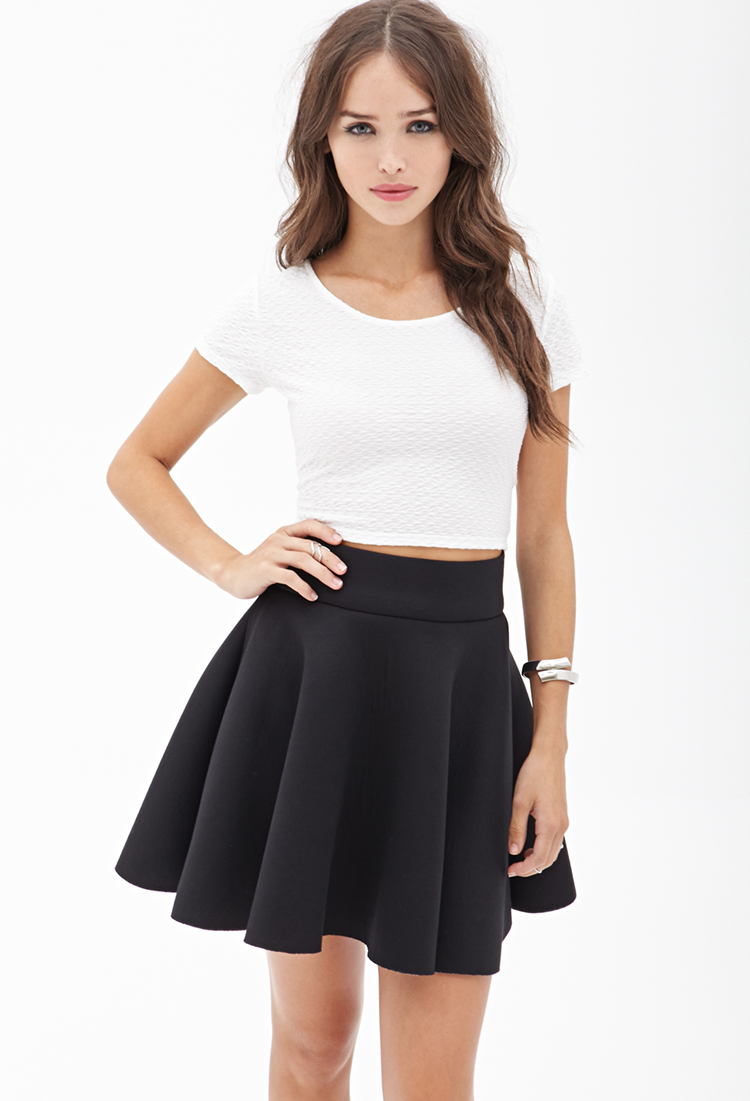 black skater skirts outfits wwwimgkidcom the image