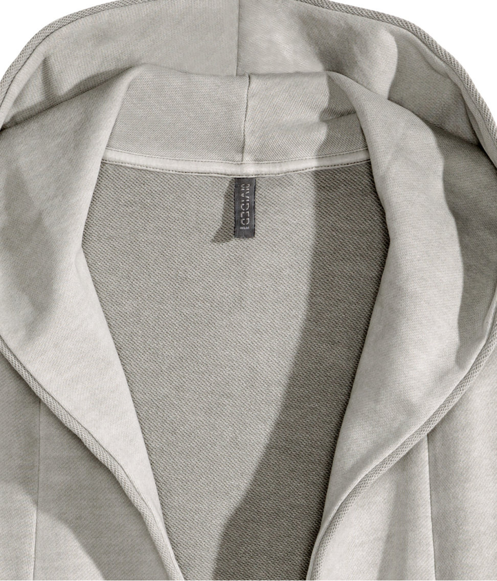 H&m Sweatshirt Cardigan in Gray for Men | Lyst