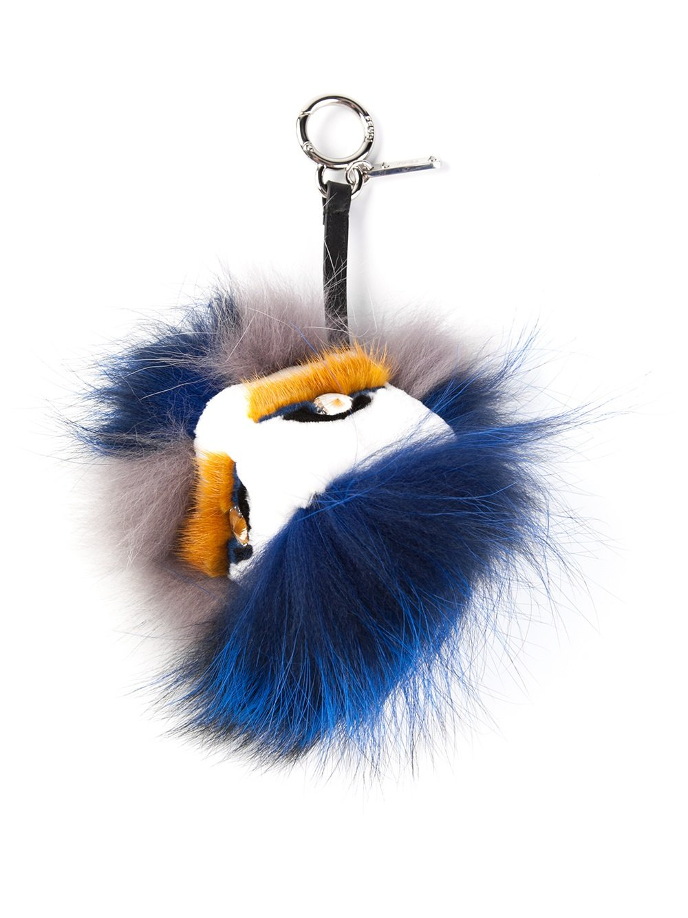 Lyst - Fendi Monster Bag Charm in Blue 7ced8e4887e0f