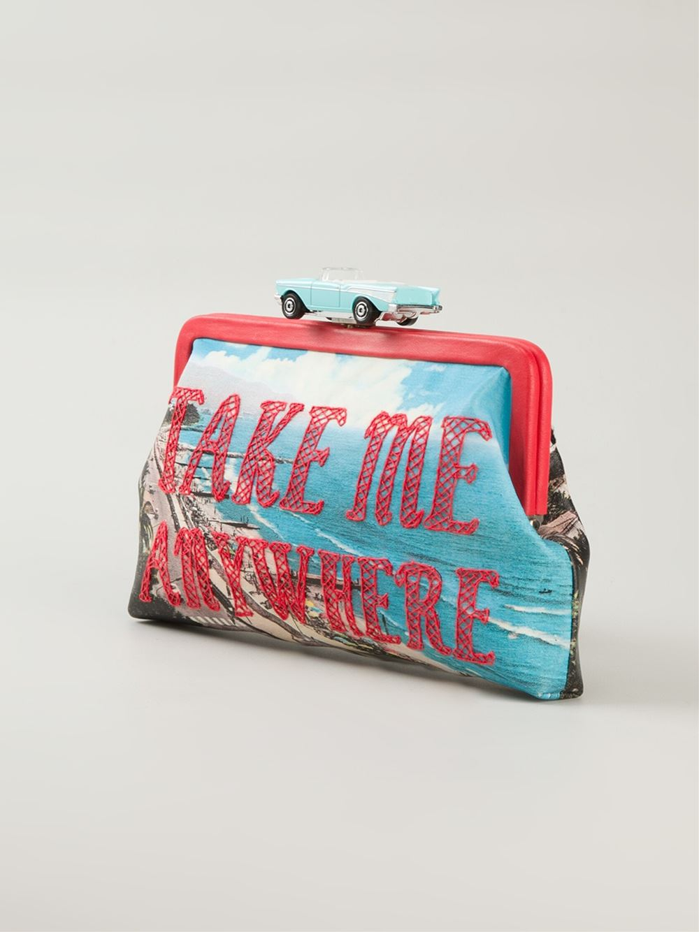 Sarah's bag 'Take Me Anywhere' Clutch in Blue
