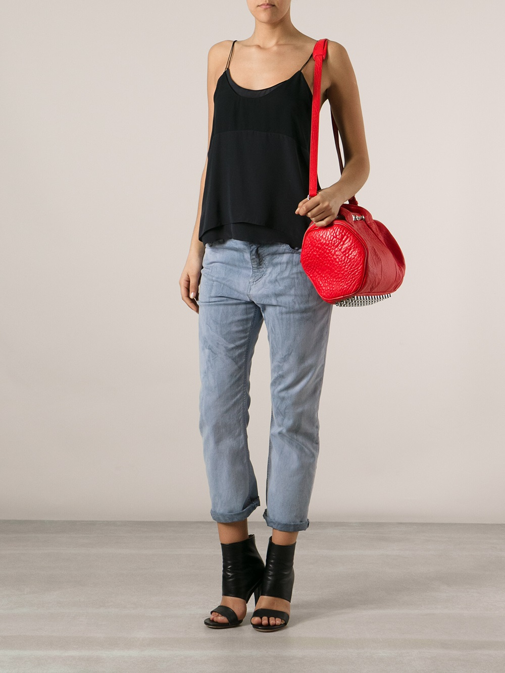 Alexander Wang Rockie Tote in Red