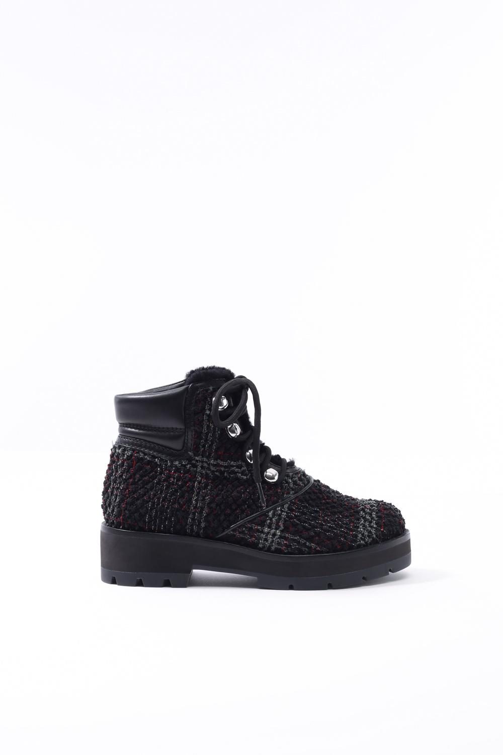 834e96e583e38 Lyst - 3.1 Phillip Lim Dylan Lace-up Hiking Boot in Black