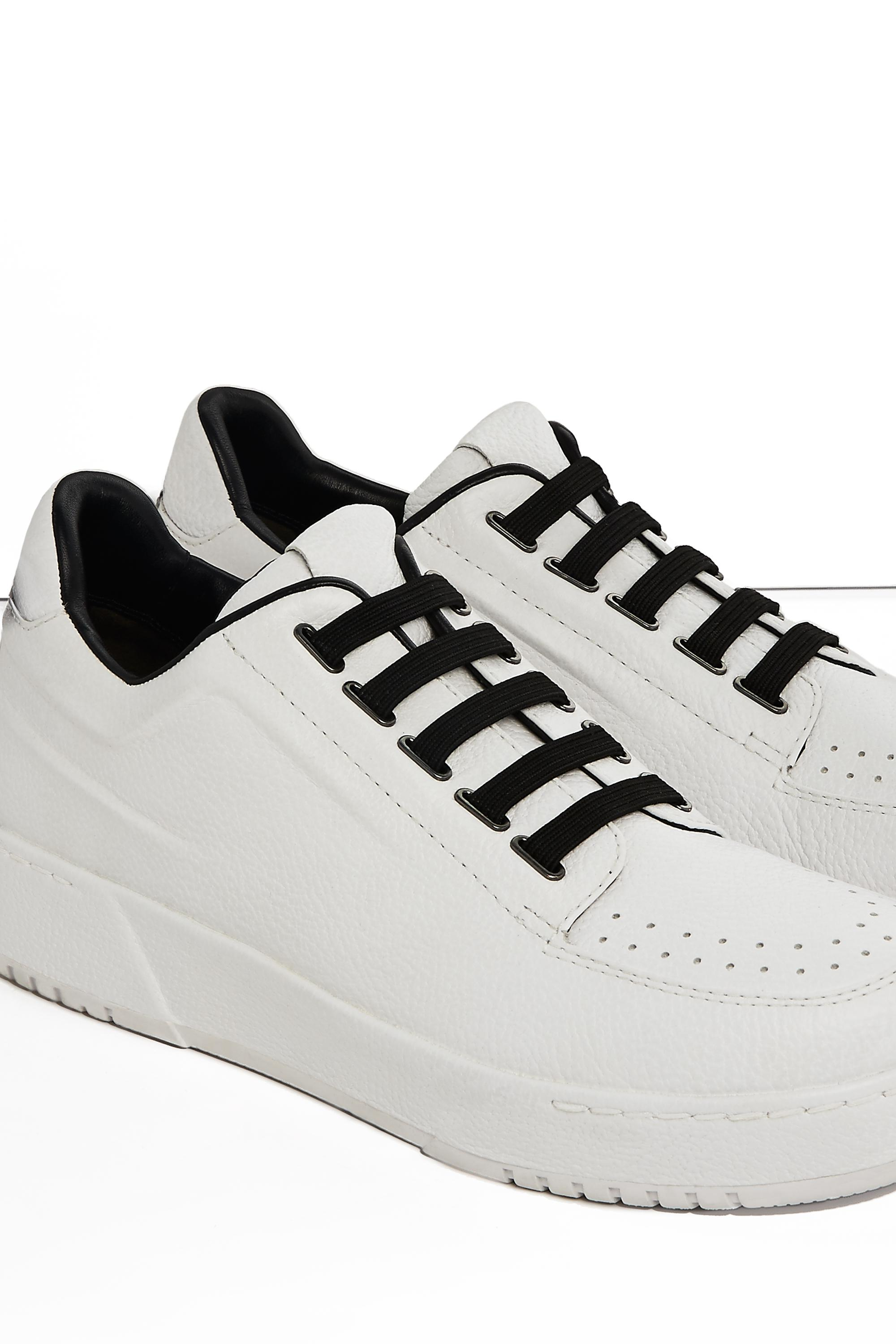 3.1 Phillip Lim Leather Pl31 Low Top Sneaker in White