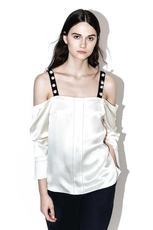 602b300df8f2e 3.1 Phillip Lim. Women s Cold-shoulder Top