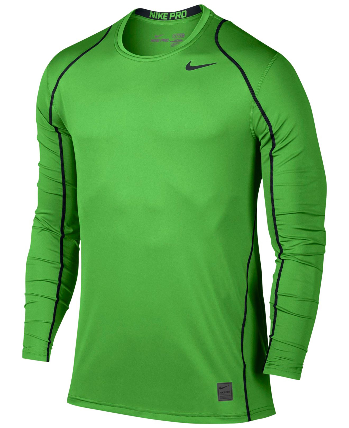 Lyst Nike Men 39 S Pro Cool Dri Fit Fitted Long Sleeve