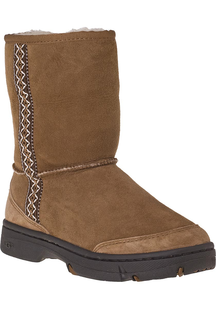 Lyst Ugg Ultimate Tas Suede Boots In Brown