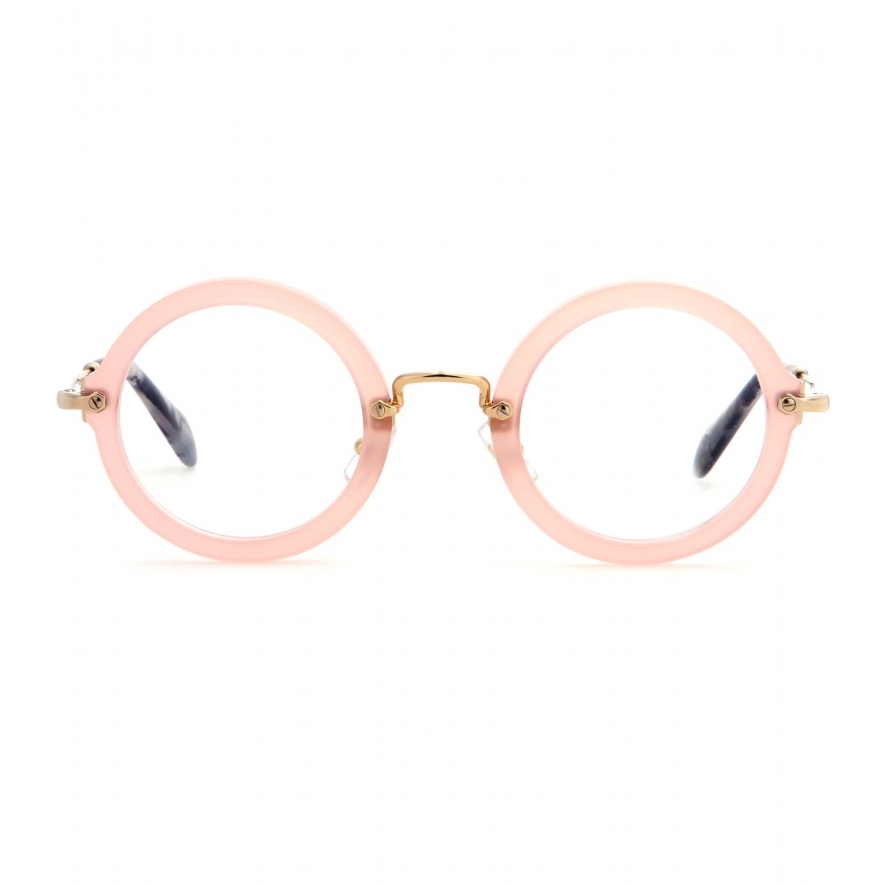 round shaped sunglasses - Pink & Purple Miu Miu Eyewear 1CTokVCz