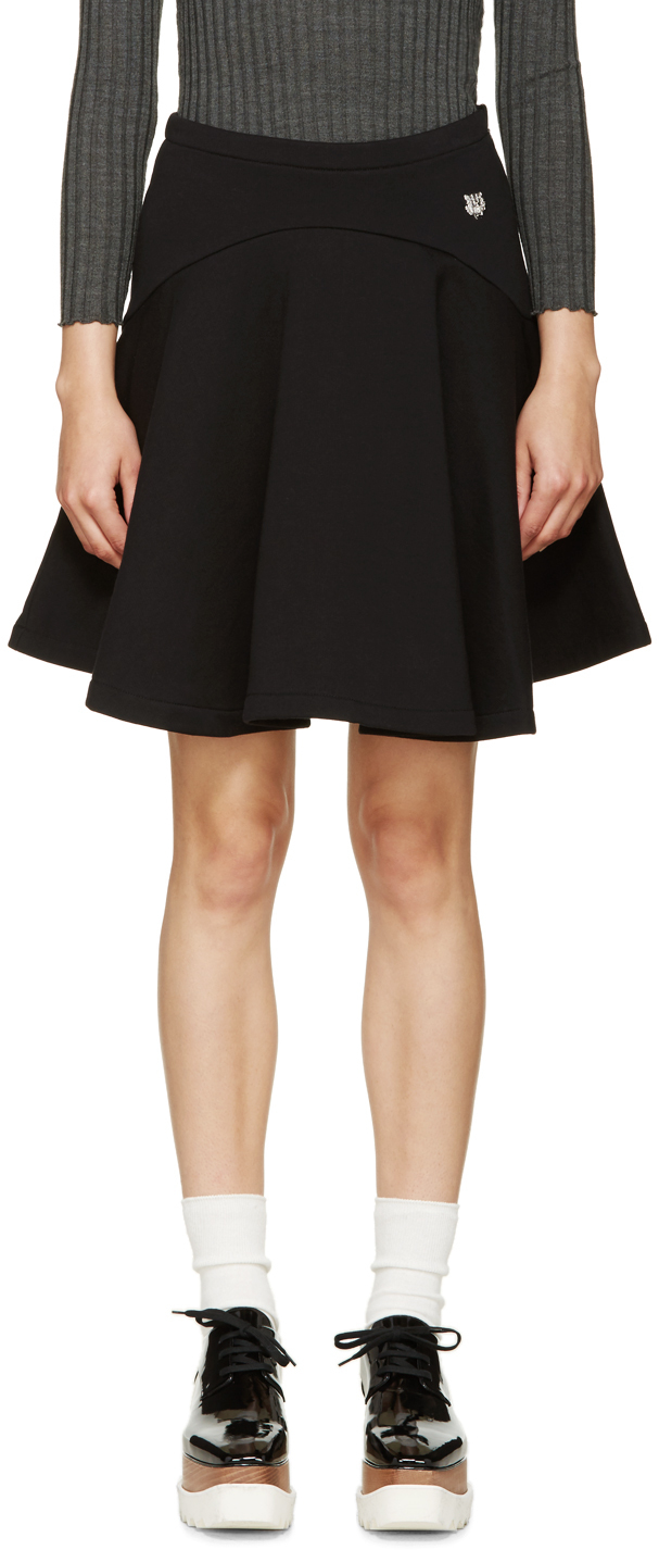 8573281e KENZO Black Fleece Circle Skirt