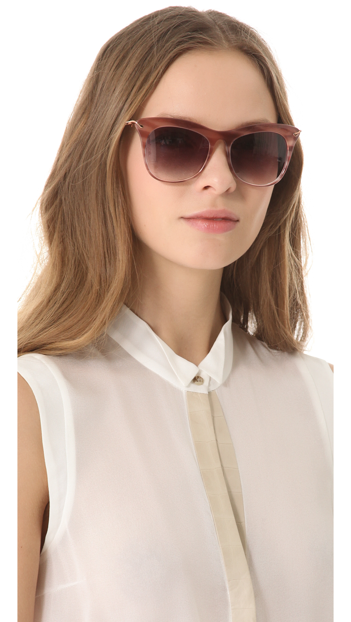 81b5aa2920 Lyst - Elizabeth and James Fairfax Sunglasses in Pink