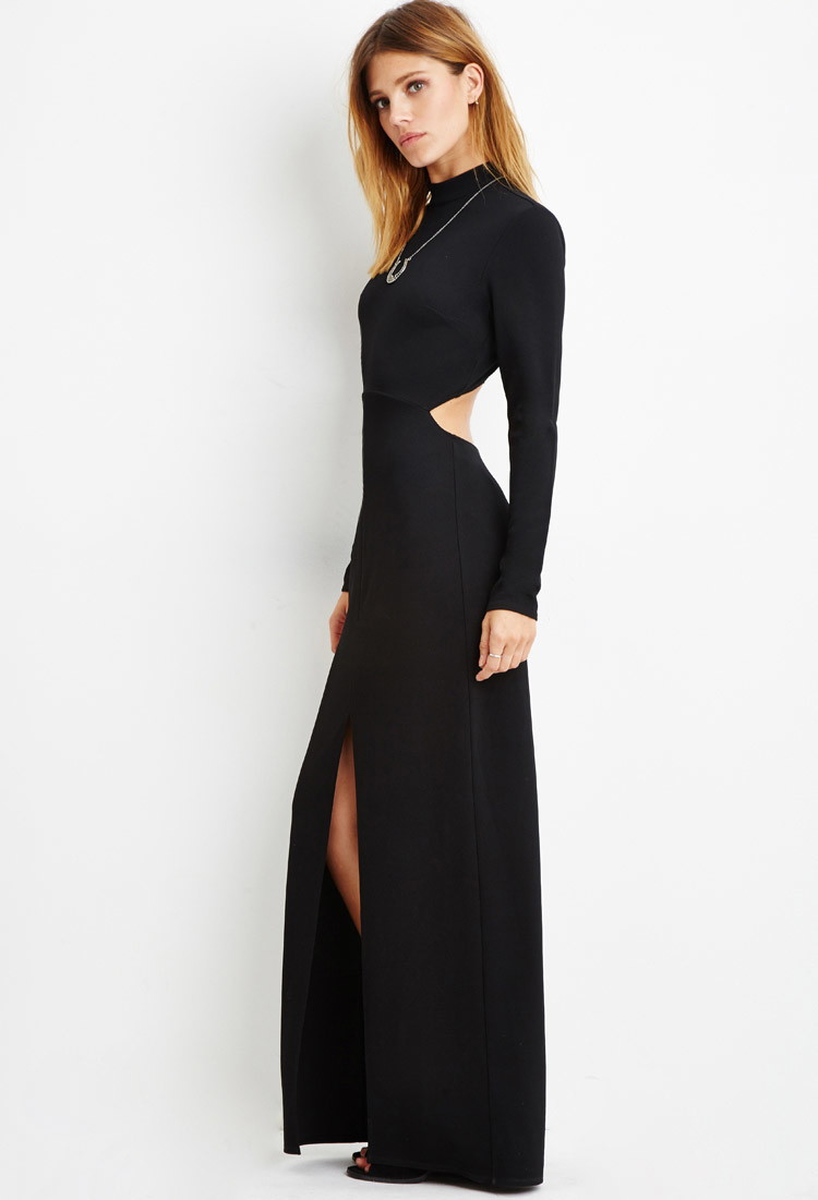 Forever 21 Contemporary Open-back Maxi Dress You've Been Added To ...