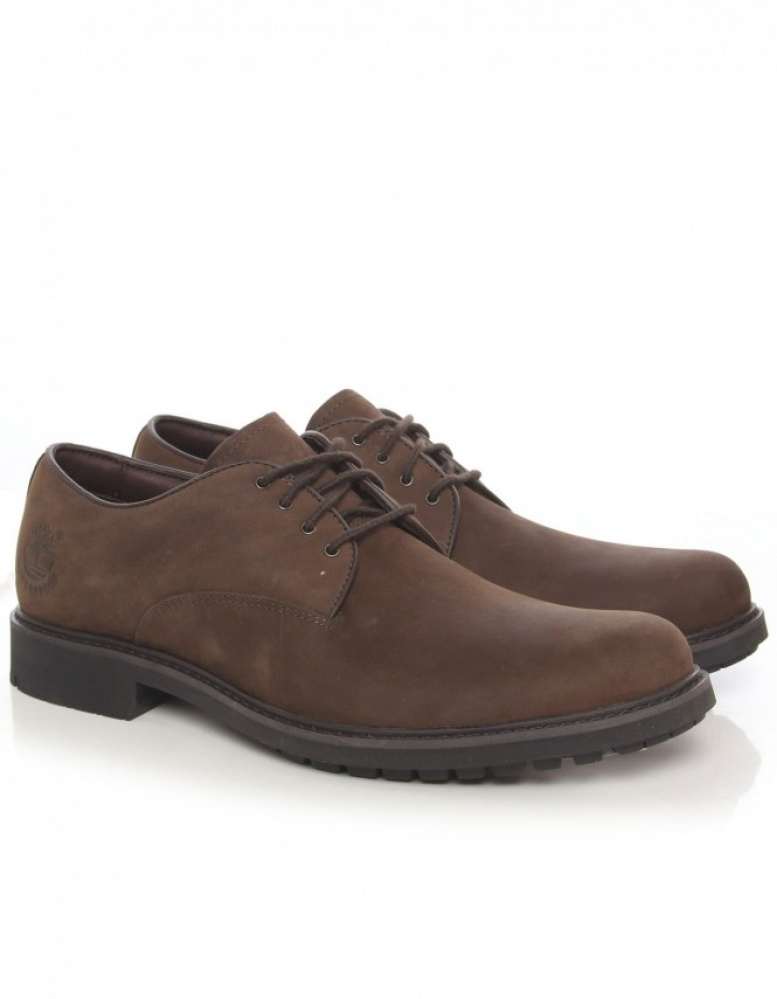 Timberland Earthkeepers Stormbuck Oxford Shoes In Brown