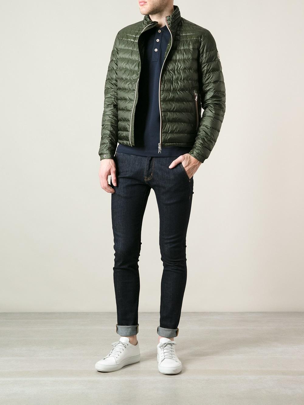 moncler daniel jacket green