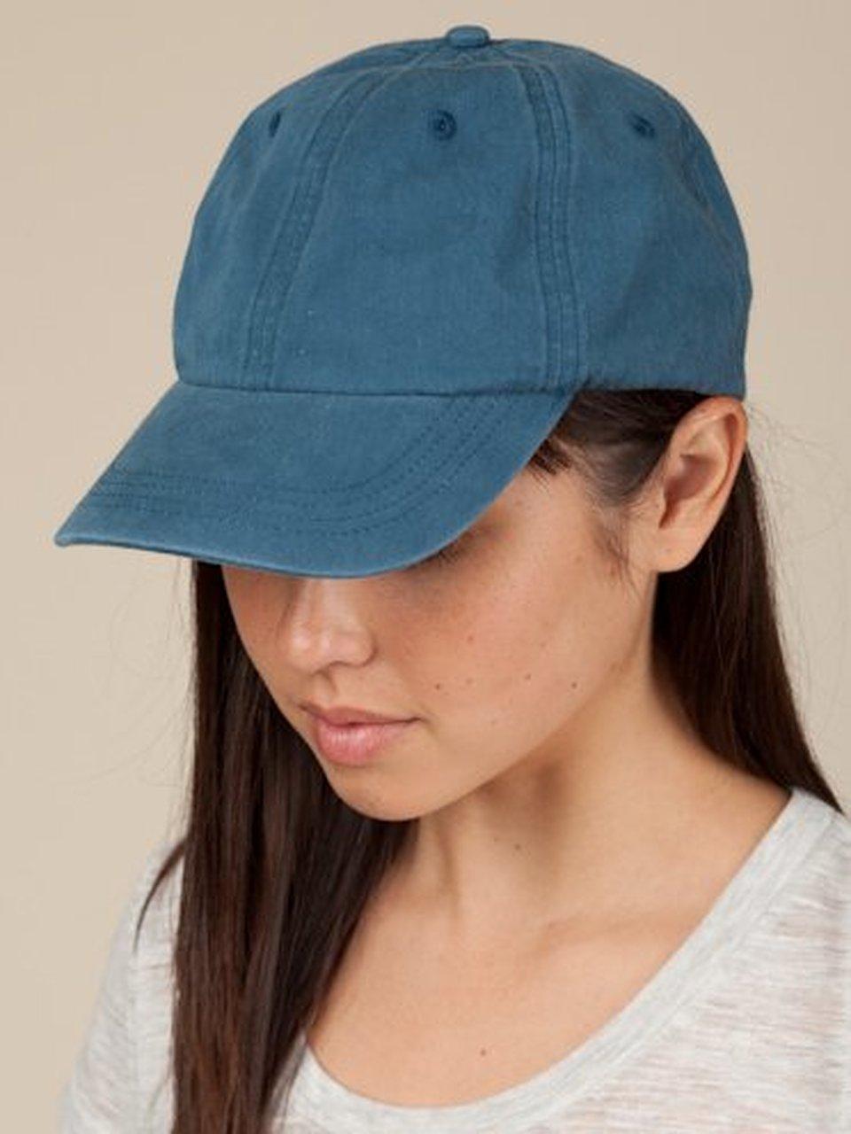 6b460cd8 Alternative Apparel Blue Basic Organic Chino Twill Cap