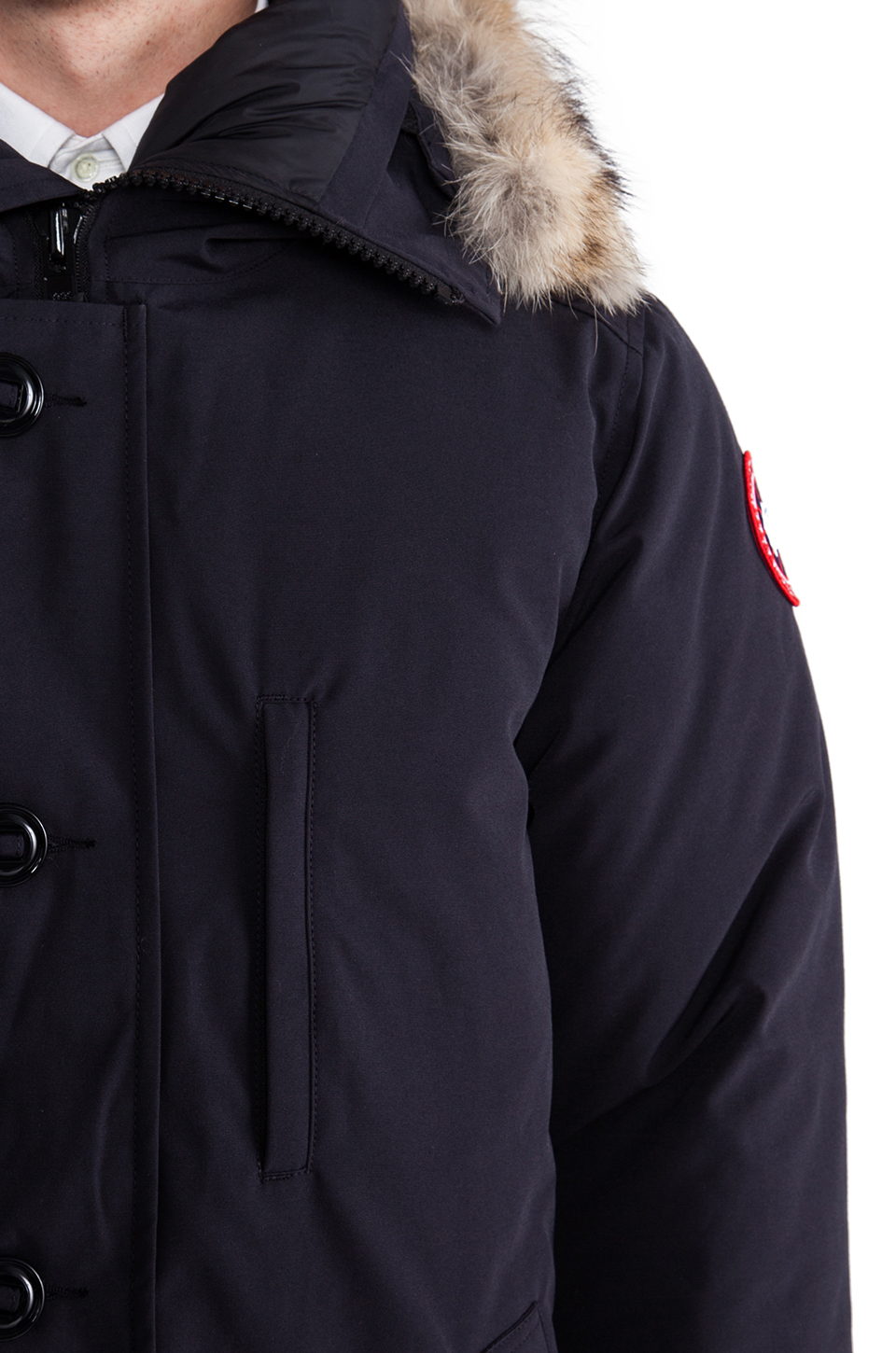 Canada Goose womens outlet shop - Canada goose Chateau Parka With Coyote Fur Trim in Blue for Men ...