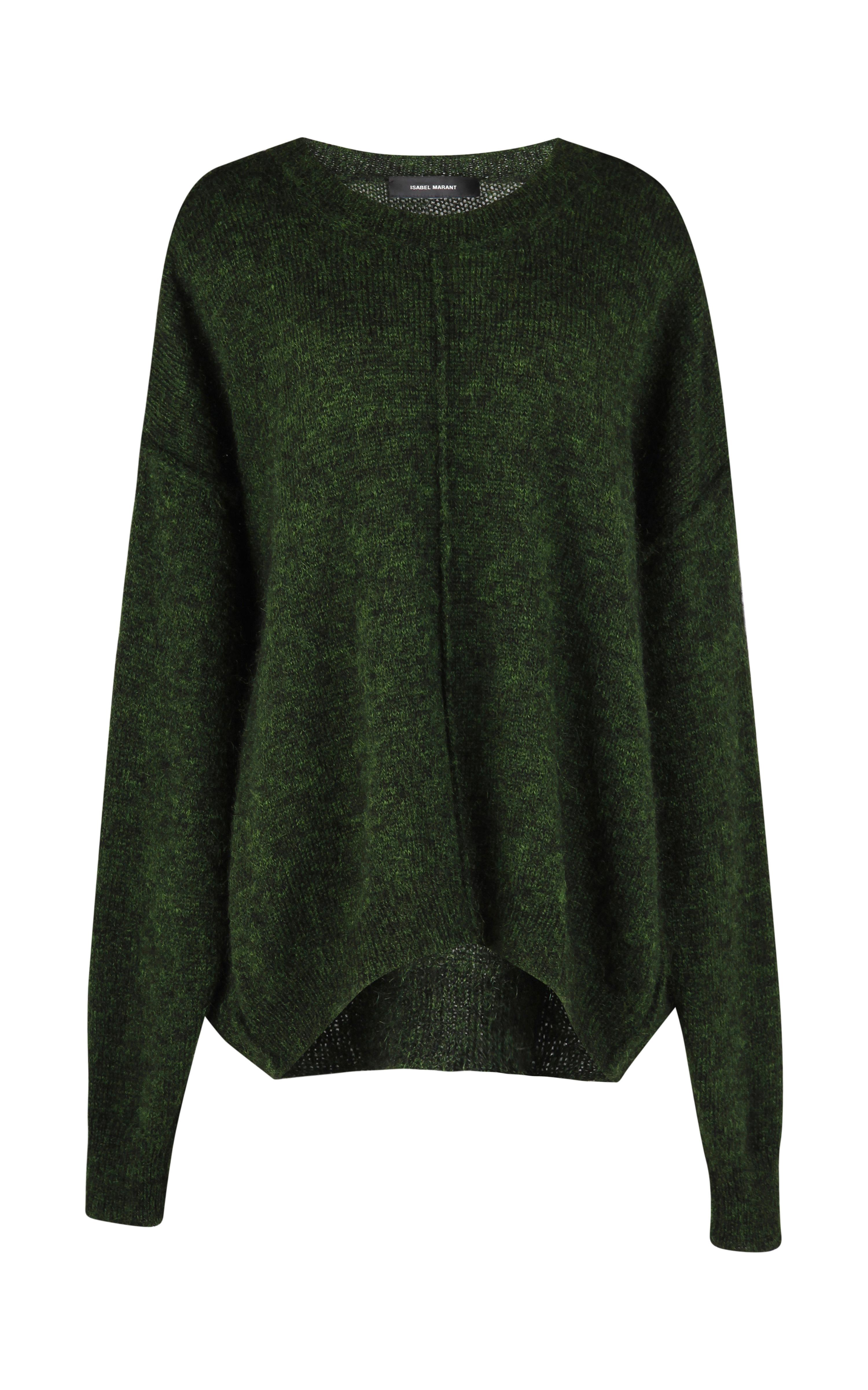 isabel marant tam sweater in green lyst. Black Bedroom Furniture Sets. Home Design Ideas