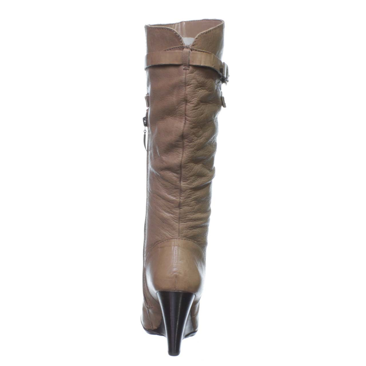 guess mally wedge boot in lyst