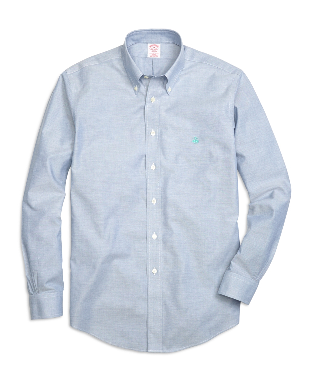brooks brothers non iron regent fit oxford sport shirt in