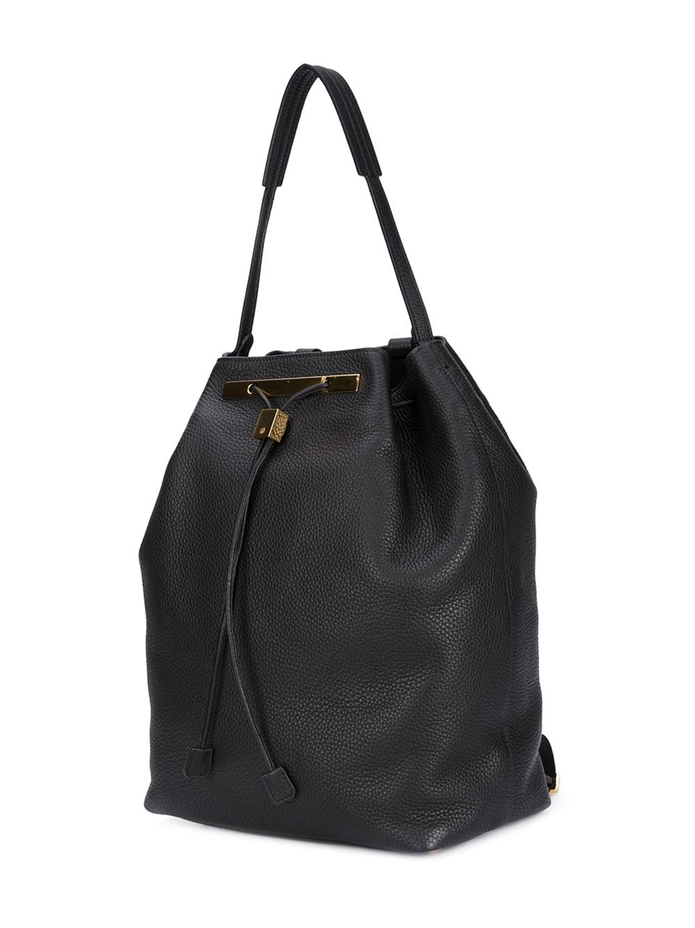 The Row Drawstring Backpack In Black Lyst