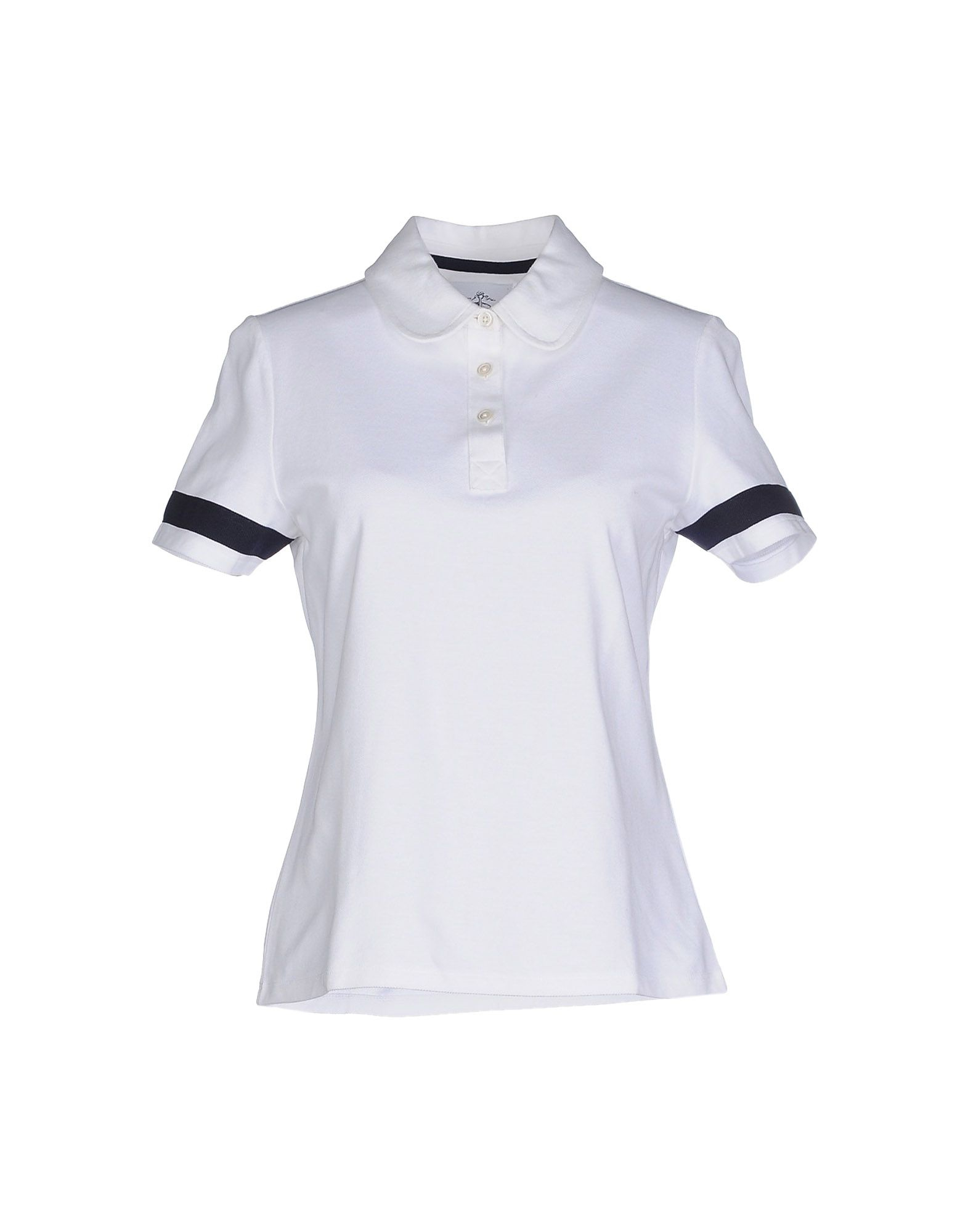 Brooks brothers polo shirt in white lyst Brooks brothers shirt size guide
