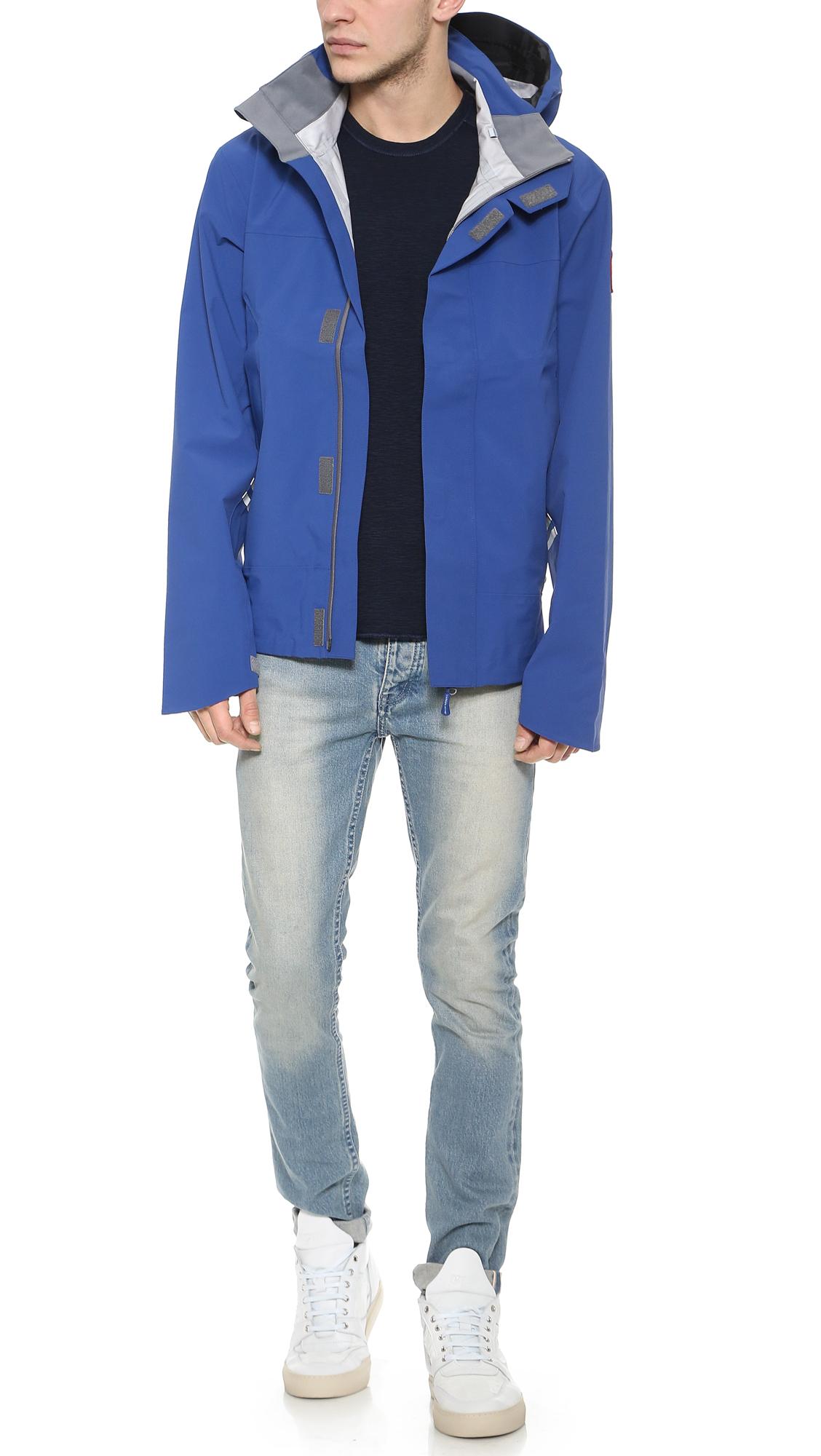 165365a353b Canada Goose Blue Ridge Shell Jacket for men