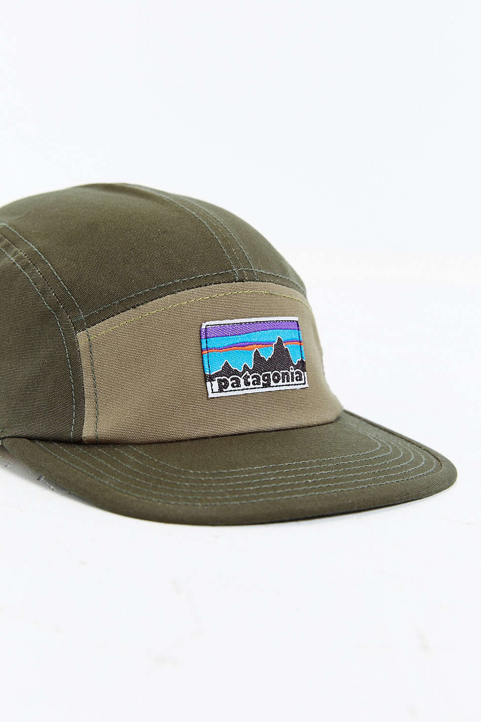 Patagonia Retro Fitz Roy Label 5 Panel Baseball Hat For