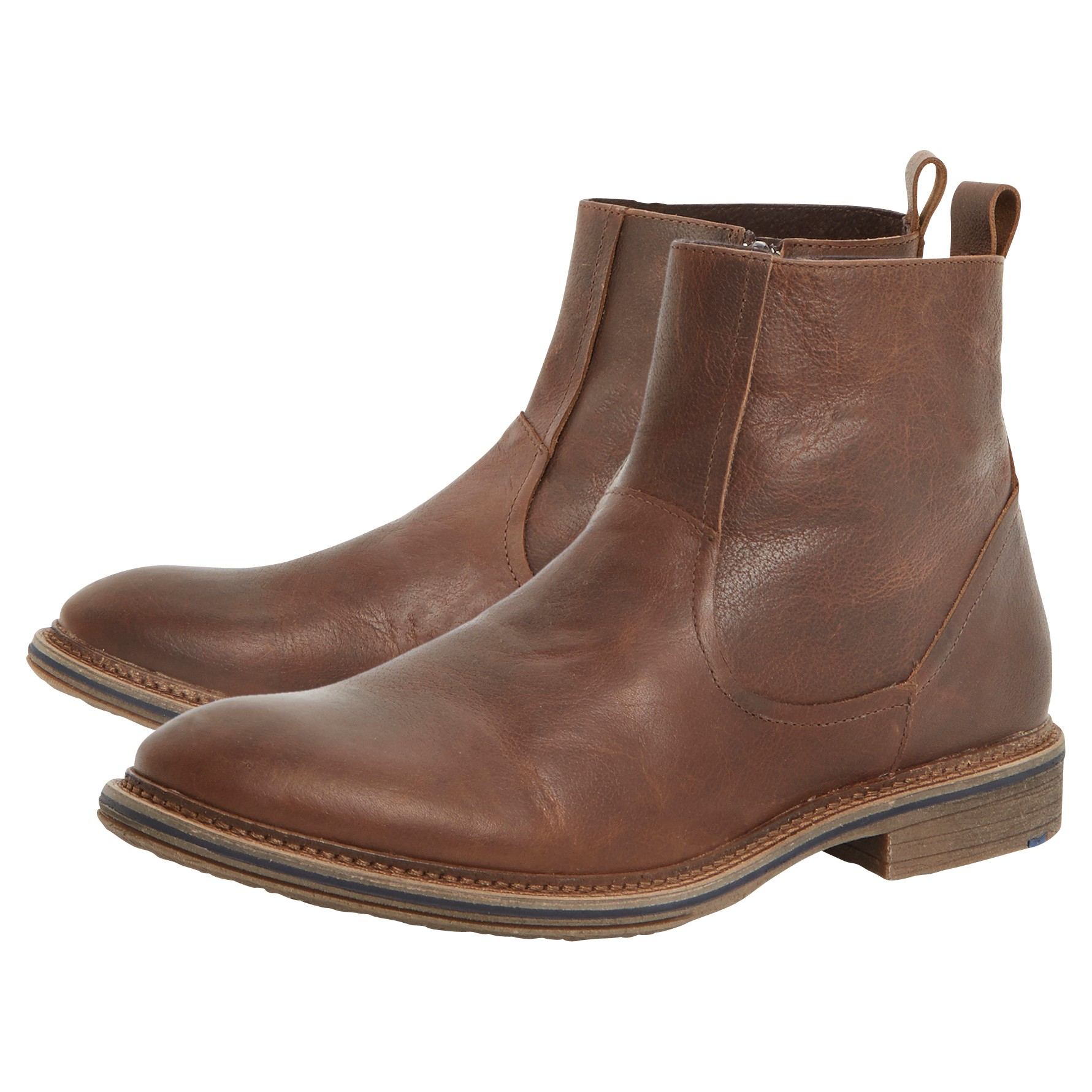 dune leather climber boots in brown for lyst