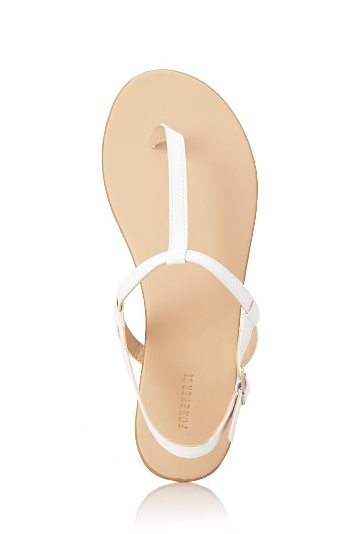 Forever 21 Favorite T-Strap Sandals in