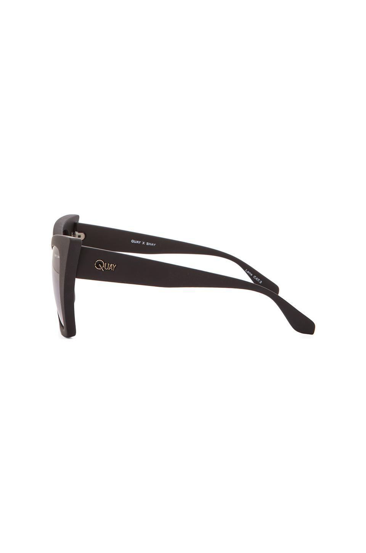 c6a8df56eb Lyst - Quay X Shay Mitchell Vesper Sunglasses in Black