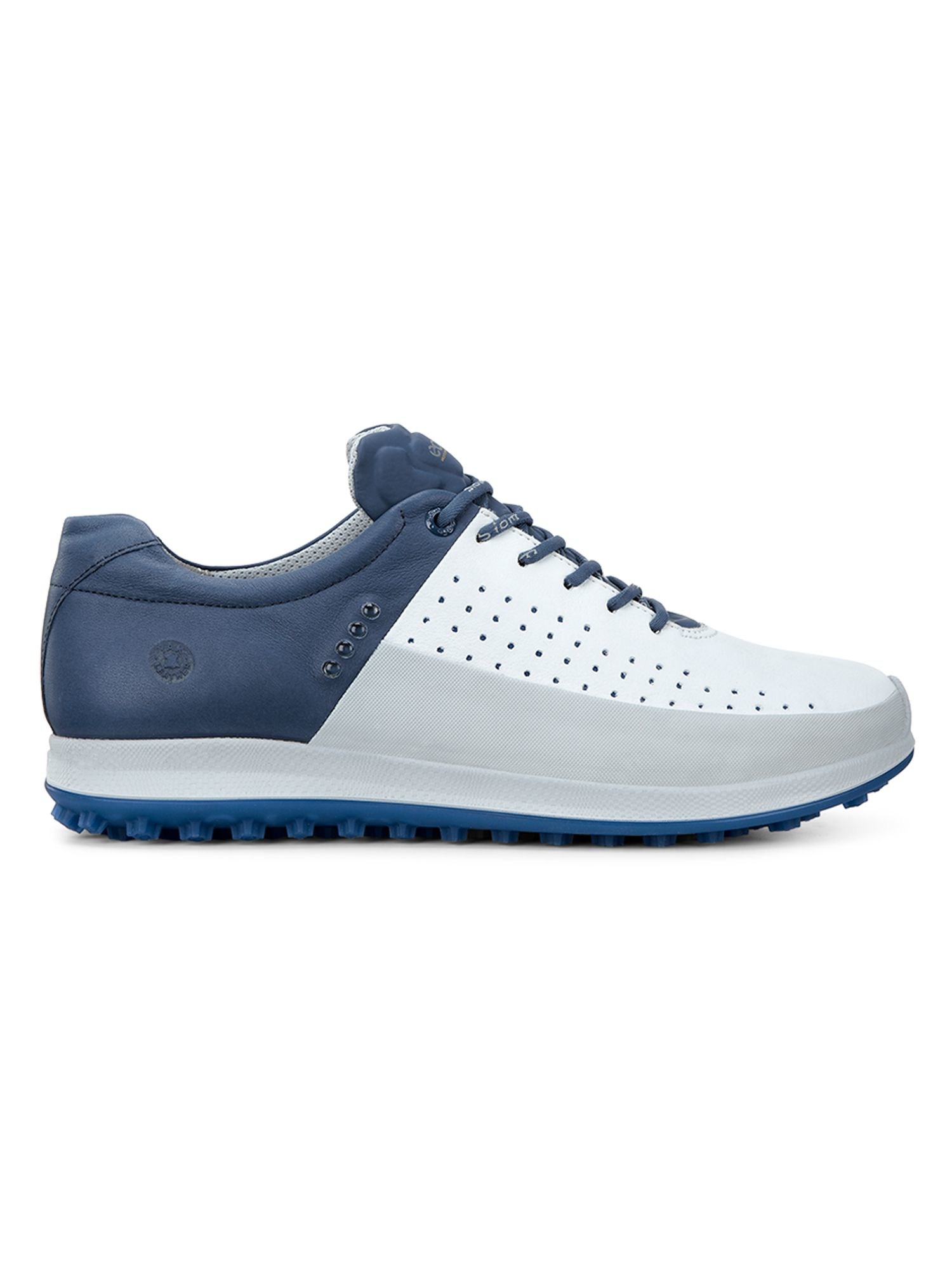 ecco biom hybrid 2 golf shoes in blue for save 12