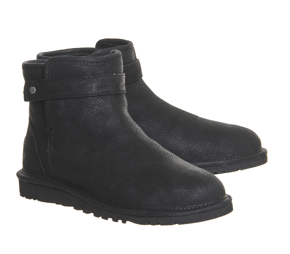 ugg rella boots in black lyst
