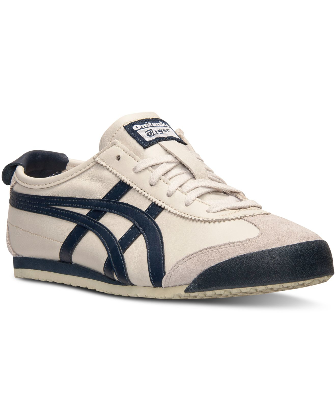 new product 46a4f ff9a5 Asics Natural Men's Onitsuka Tiger Mexico 66 Casual Sneakers From Finish  Line for men