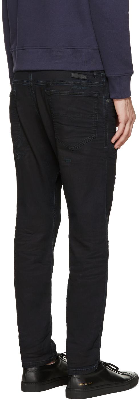 lyst diesel indigo narrot ne jogg jeans in blue for men. Black Bedroom Furniture Sets. Home Design Ideas