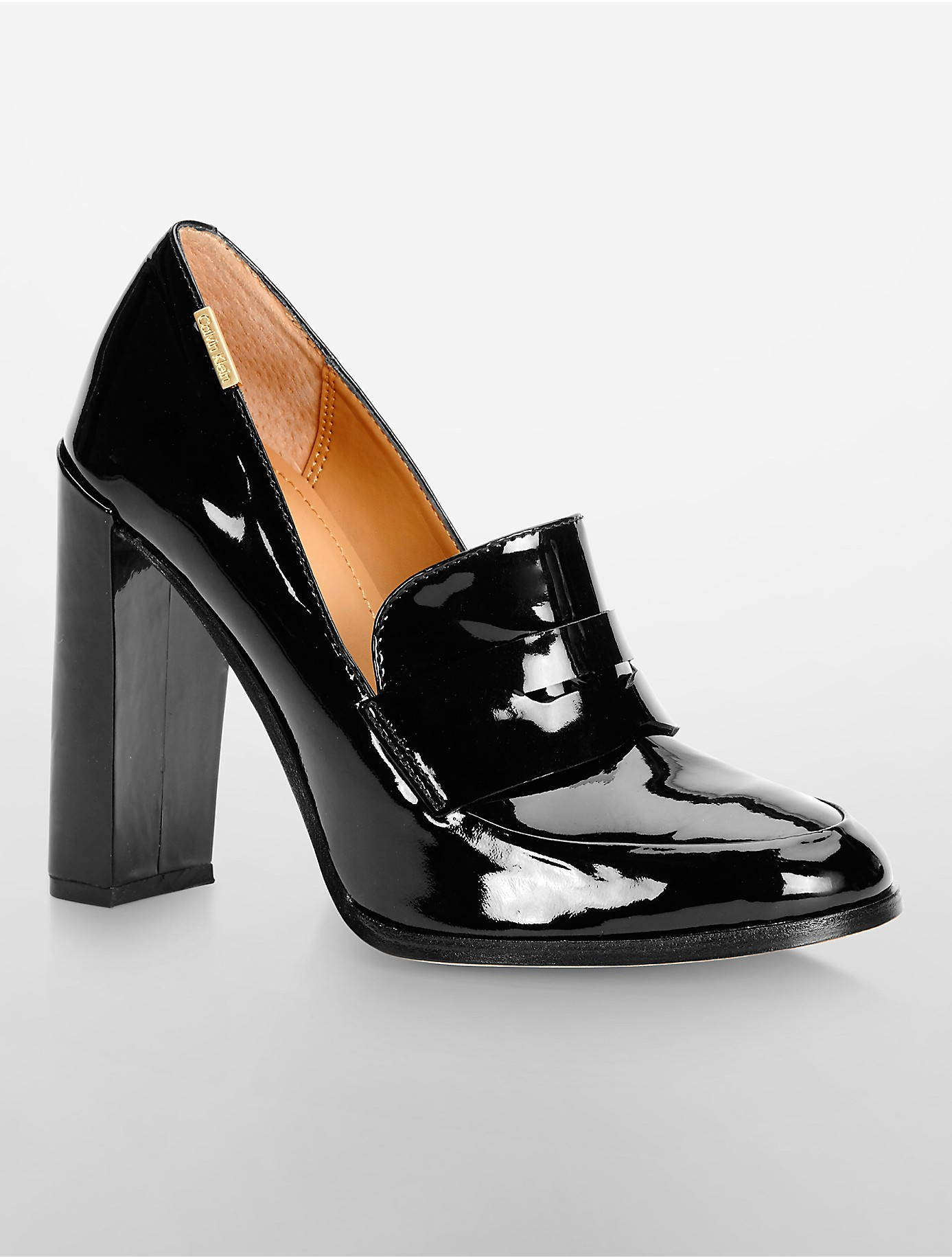 White High Heel Court Shoes
