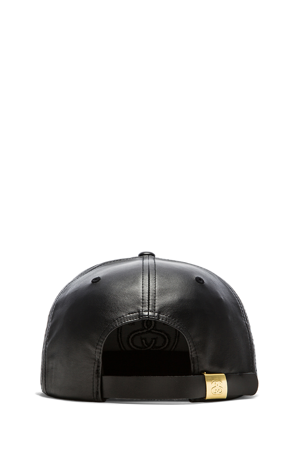Lyst - Stussy 3D Ss Faux Leather Snapback in Black for Men 87c3d0ebb673