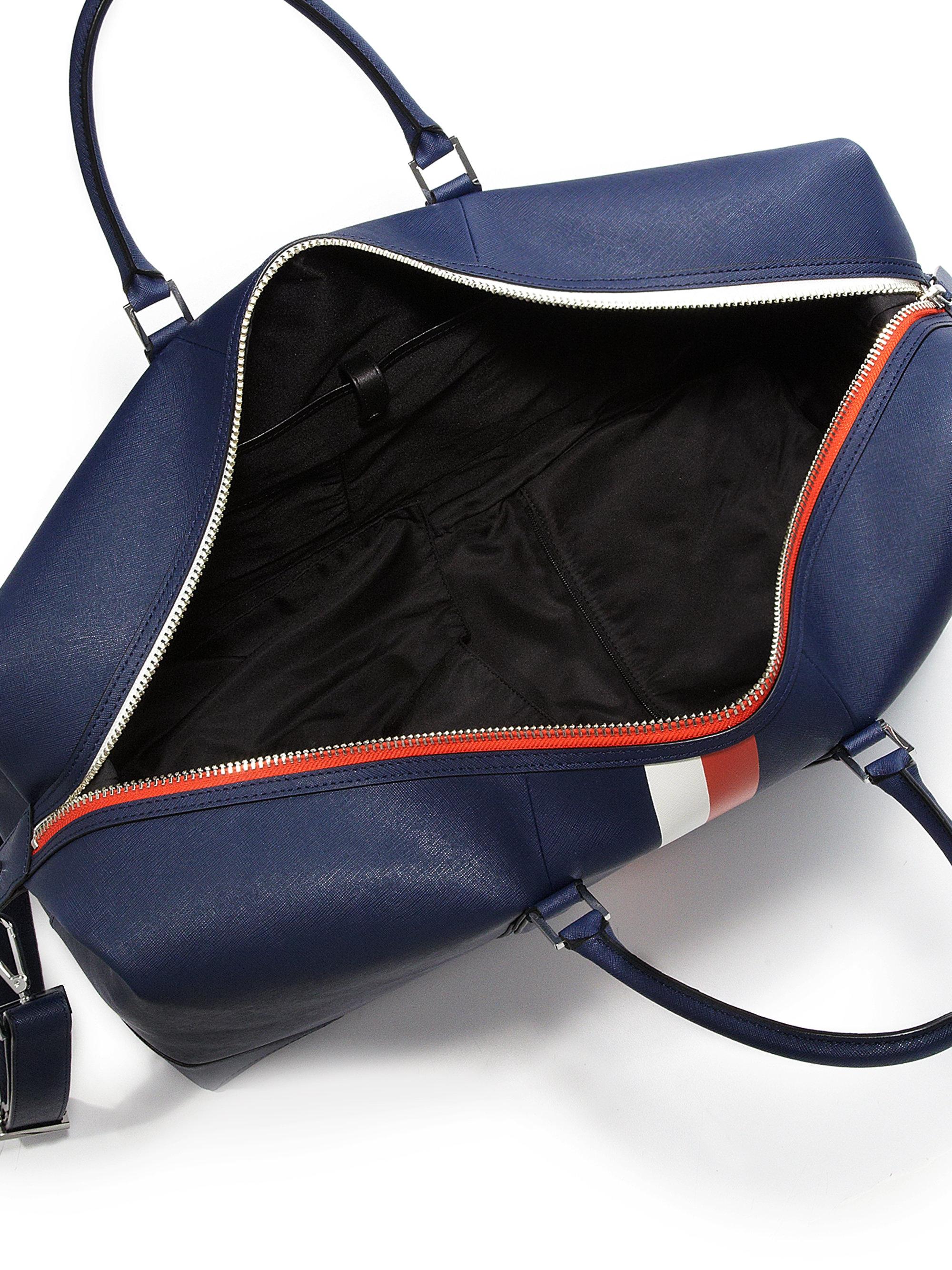 Lyst Uri Minkoff Wythe Weekender Bag In Blue For Men
