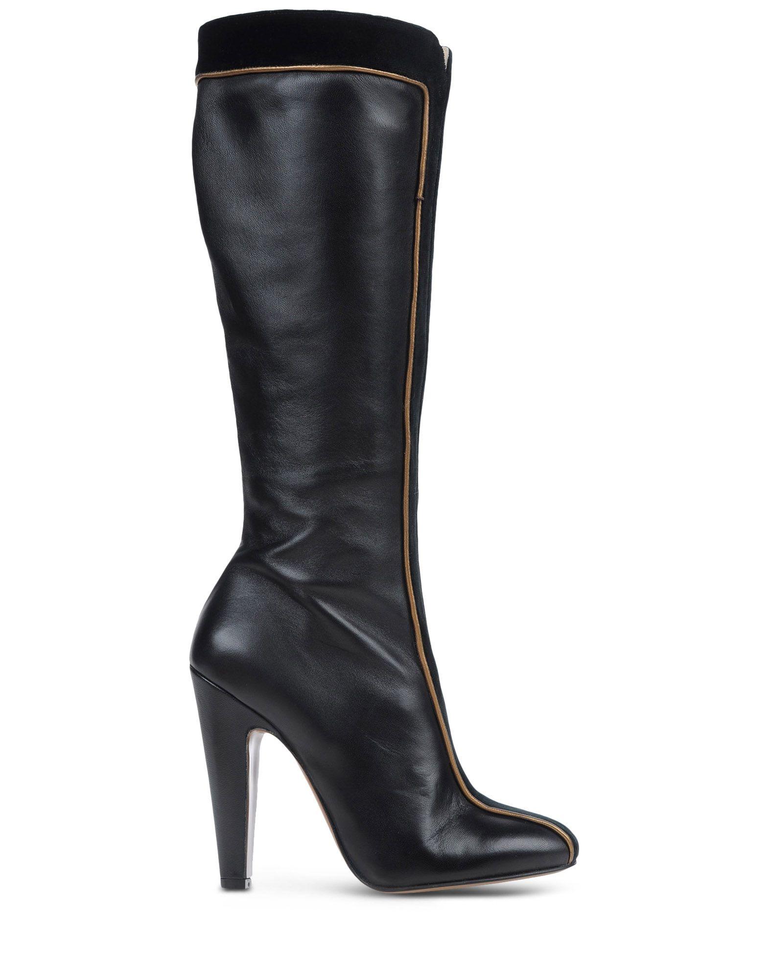 l 39 autre chose boots in black lyst. Black Bedroom Furniture Sets. Home Design Ideas