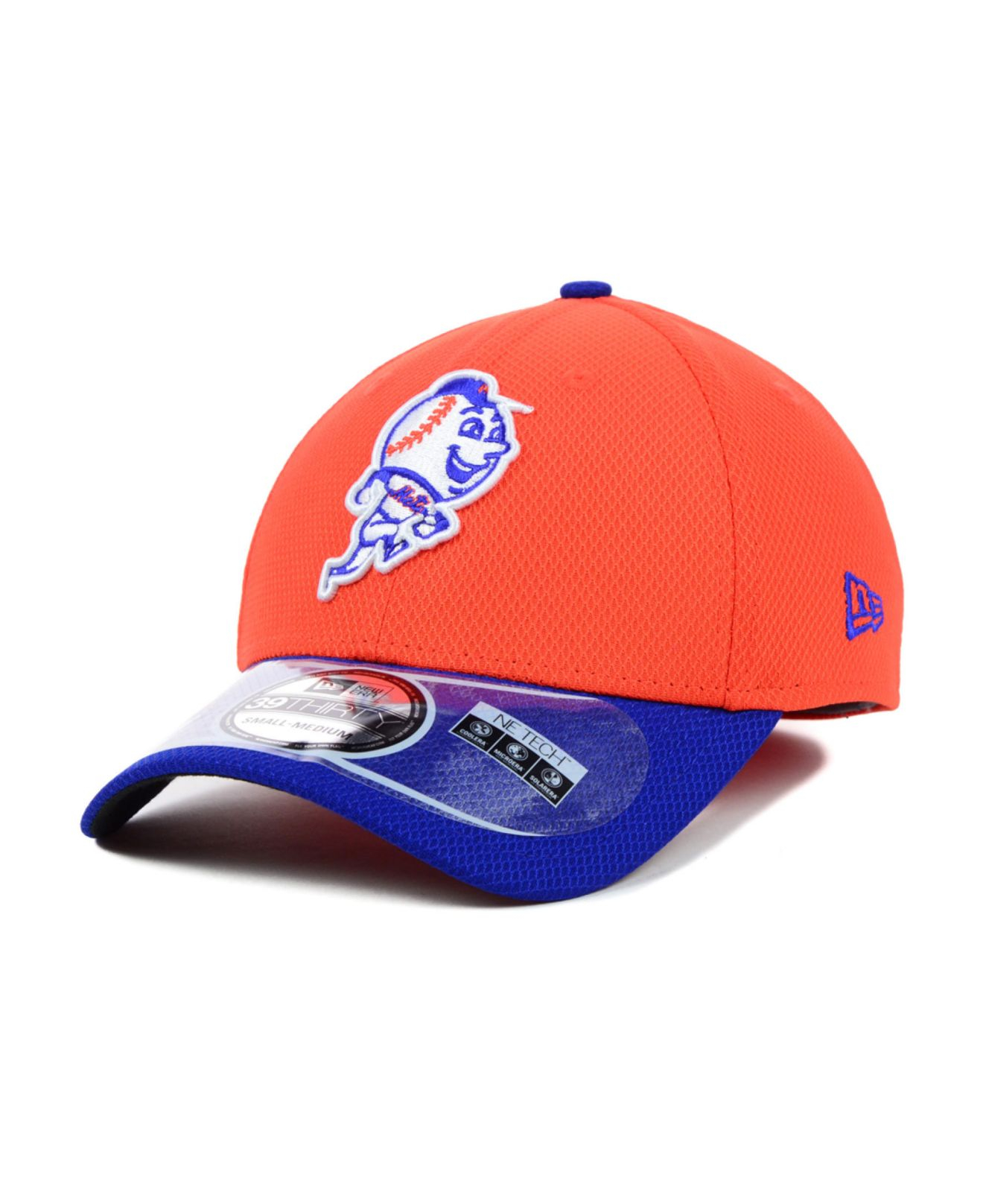 reputable site b214c 4e0aa shop lyst ktz new york mets diamond era 2 tone 39thirty cap in orange for  men