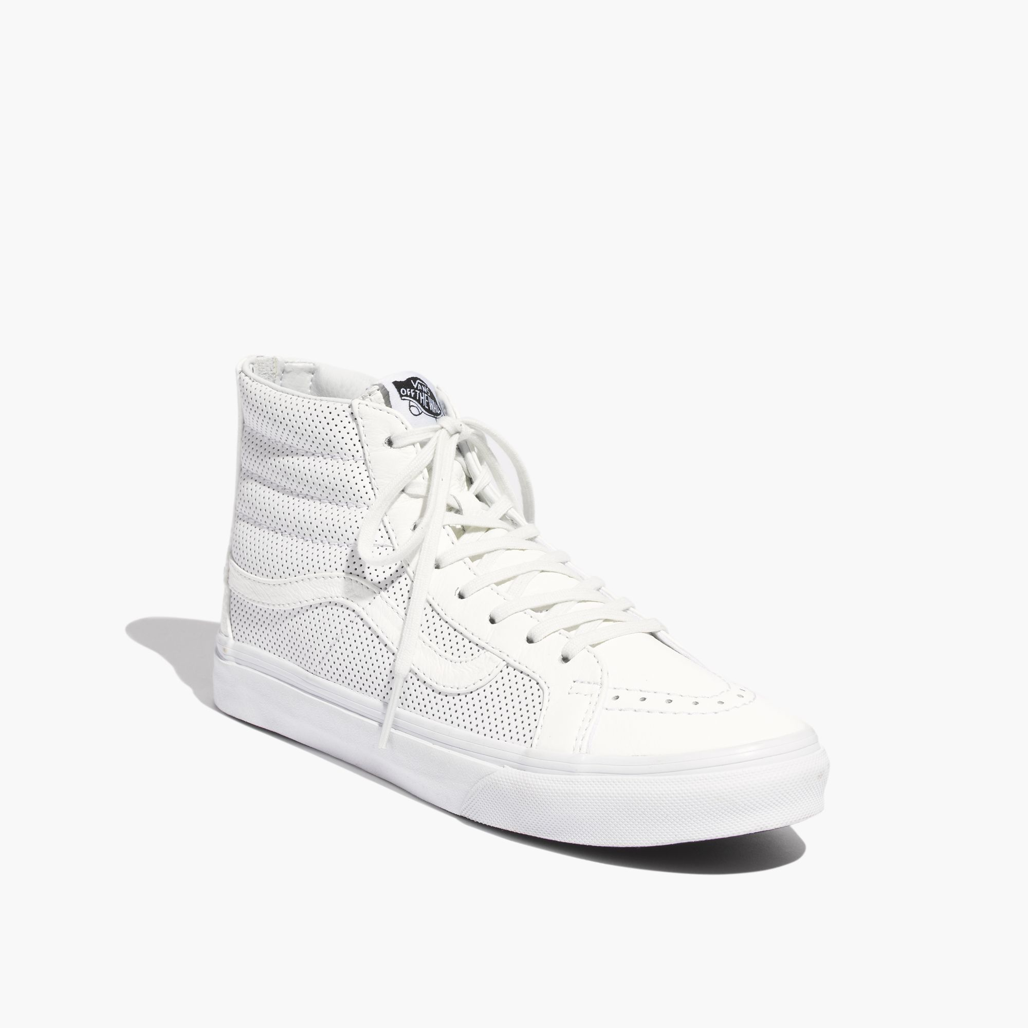 2d5432d5d564cd Lyst - Madewell Vans® Sk8-Hi Slim Zip High-Top Sneakers In ...