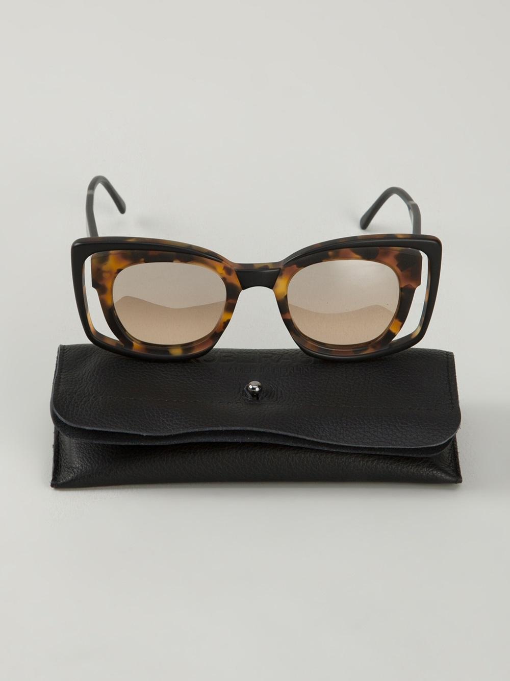 Kuboraum Mask T1 Sunglasses in Black