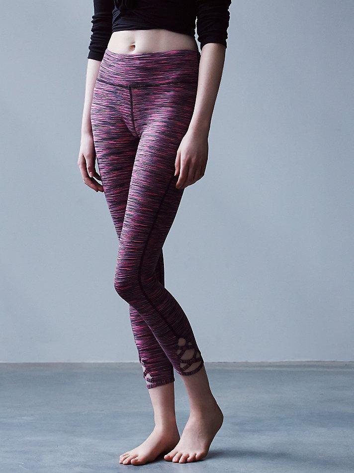 8198e9f540875b Free People Space Dye Lotus Legging in Pink - Lyst