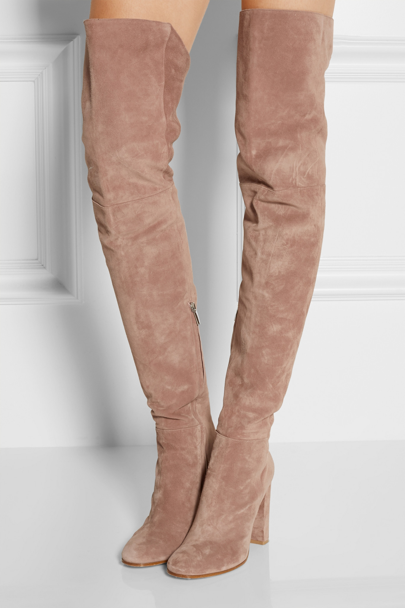 Gianvito Rossiover the knee suede boots